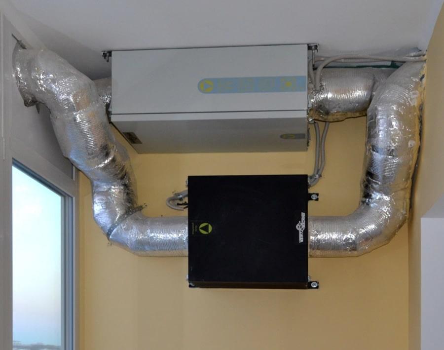 Установить приточную вентиляцию в квартире