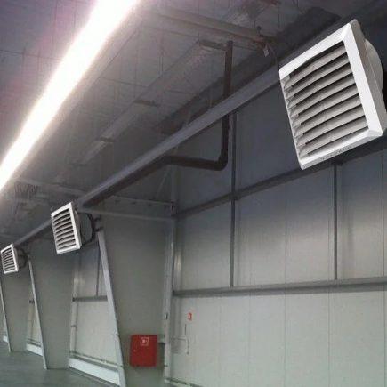 Отопительное вентиляционное оборудование